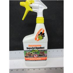 New Liquid Fence Dog & Cat Repellent / Eco-Safe stop bad habits like