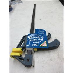 "New Samona 18"" Quick Ratcheting Bar Clamp & Spreader"