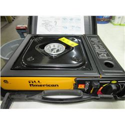 New All American Portable Propane Stove