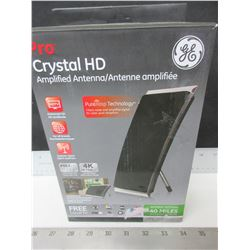 New GE PRO Crystal HD Amplified Antenna / get free local TV