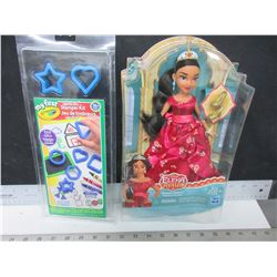 Washable Stamper Kit and Disney Elena Avalor - Royal Gown