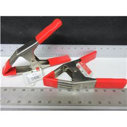 2 New Bessey Spring Clamps / Large and strong