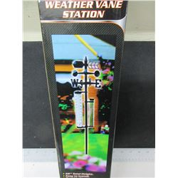 "New Weather vane Station / 5 function 56"" tall"