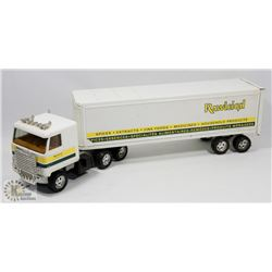VINTAGE TRUCK RAWLEIGH TOY.