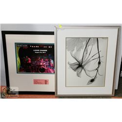 LOT OF TWO FRAMED PICTURES