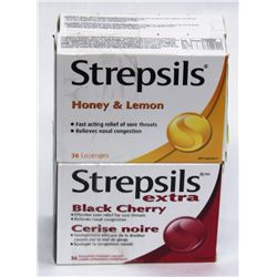 LOT OF 4 STREPSILS LOZENGES