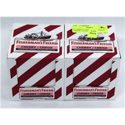 2 CASES OF CHERRY FISHERMAN'S FRIEND LOZENGES
