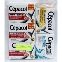 BAG OF CEPACOL LOZENGES