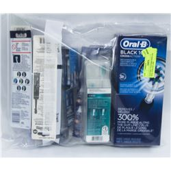 ELECTRIC TOOTHBRUSHES AND ORAL B BLACK 1000