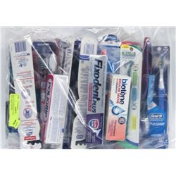 BAG OF ASSORTED TOOTHBRUSHES INCL ORAL-B AND