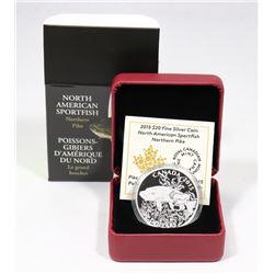 2015 RCM $20 FINE SILVER COIN: NORTH AMERICAN