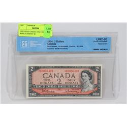 CERTIFIED CHOICE UNC 1954 A/B REPLACEMENT $2
