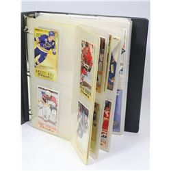BOOK OF HOCKEY CARDS.