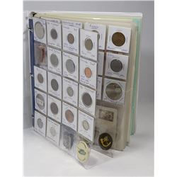 BOOK OF COLLECTIBLE COIN, FIRST FLIGHT COVERS,