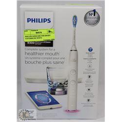 PHILLIPS SONICARE 9300 SMART TOOTHBRUSH WHITE