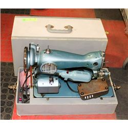 DOMESTIC TABLE TOP SEWING MACHINE, WORKING