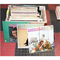 BIN OF ASSORTED LP'S INCLUDES STEVE MILLER,
