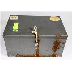 LARGE CASH BOX