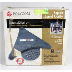UNUSED POLY COM CONFERENCE PHONE