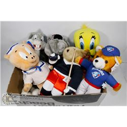 BOX OF COLLECTIBLE TOYS