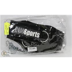 NEW RIM SPORTS HEAVY WEIGHT LIFTING BELT WITH