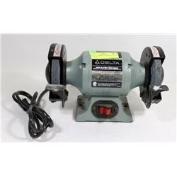 "DELTA 5"" BENCH GRINDER 1/5 HP W/ MANUAL"