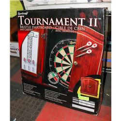 TOURNAMENT II BRISTLE DART BOARD.