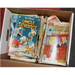 BOX OF ASSORTED COMICS