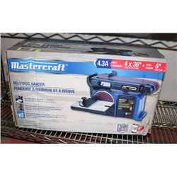 MASTERCRAFT 4.3AMP BELT/DISC SANDER