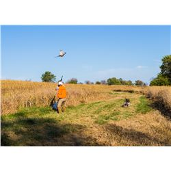 HERITAGE 1865: 2-Day/3-Night Premium Upland Bird Hunt for Two Hunters in Iowa