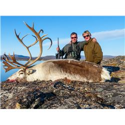MAGIC SAFARI: 3-Day Caribou Hunt for One Hunter and One Non-Hunter in Southwest Greenland - Includes