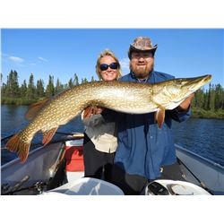 SCOTT LAKE: 5-Day Luxury Fishing Trip for Two Anglers in Saskatchewan, Canada