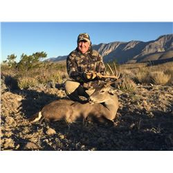 LA PALMOSA: 4-Day Central Plateau Whitetail Deer Hunt for One Hunter and One Non-Hunter in Coahuila,