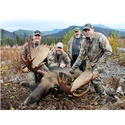 LOBO PEAK: 8-Day Moose Hunt for One Hunter in British Columbia