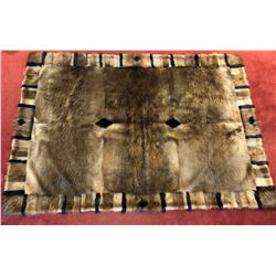 HOLLOWAY FURS: Luxurious Handcrafted 14-Skin Beaver Blanket