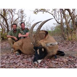 FARO LOBEKE: 8-Day Savannah Buffalo, Roan Antelope and Plains Game Safari for One Hunter in Cameroon