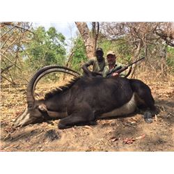 ZAMBEZE DELTA: 7-Day Sable and Plains Game Safari for One Hunter and One Non-Hunter in Mozambique -