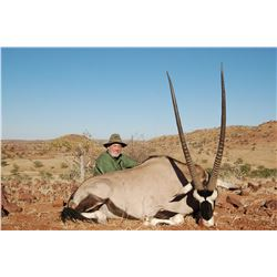 OMUJEVE: 7-Day Plains Game Safari for Two Hunters and Two Non-Hunters in Namibia - Includes Trophy F