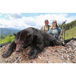 CANADIAN GUIDE: 5-Day Vancouver Island Black Bear Hunt for One Hunter and One Non-Hunter