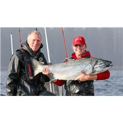 QUEEN CHARLOTTE LODGE: 4-Day Fishing Trip for Two Anglers in British Columbia