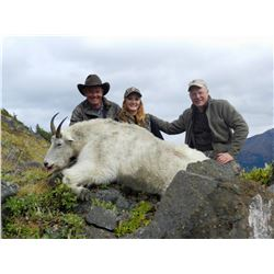 LOVE BROS: 10-Day Mountain Goat Hunt for One Hunter in British Columbia