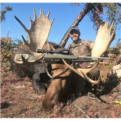 GARRETT BROS: 7-Day Fly-In Moose Hunt for One Hunter in Alberta, Canada - Includes Trophy Fee and Fi