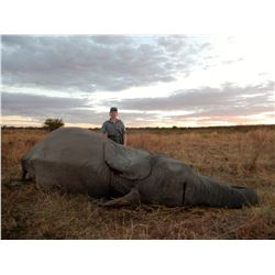 MOKORE SAFARIS: 10-Day Tuskless Elephant and Plains Game Safari for One Hunter and One Non-Hunter in