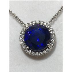 MATT BOGUSLAWSKI: Stunning Tanzanite and Diamond Necklace