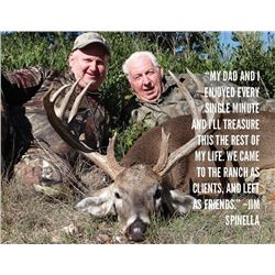 FTW/SAAM: 4-Day SAAM™ Precision & Safari Hunt Combo for Two Hunters in Texas - Includes Trophy Fee C