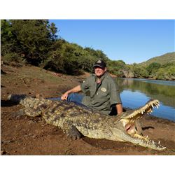THORMAHLEN & COCHRAN: 10-Day Crocodile Hunt for One Hunter and One Non-Hunter in South Africa - Incl