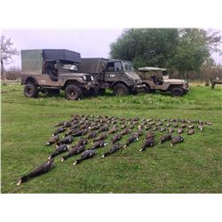 ARGENTINEWINGSHOOTING.COM: 5-Day/4-Night Dove and Duck Hunt for EIGHT Hunters Near Buenos Aires, Arg