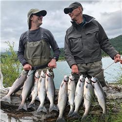 ANGRY EAGLE: 6-Day/7-Night Fishing Adventure for Two Anglers in Alaska
