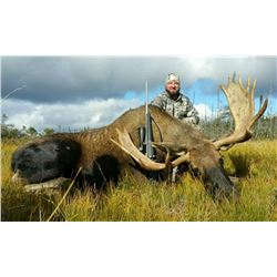 ARLUK 6-Day Newfoundland Moose and Black Bear Hunt for One Hunter in Canada - Includes Trophy Fees