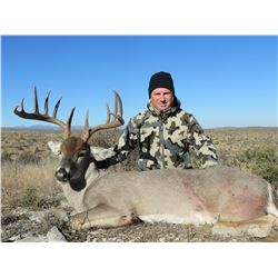 HUNT CONEXION: 5-Day Multi-Species Deer, Predator and Dove/Quail Hunt for One Hunter in Old Mexico -
